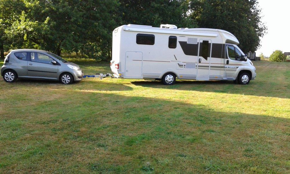 Aire camping-car à Miniac-Morvan (35540) - Photo 1